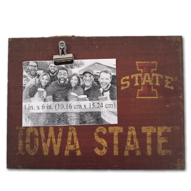 Image For Iowa State Clip Frame