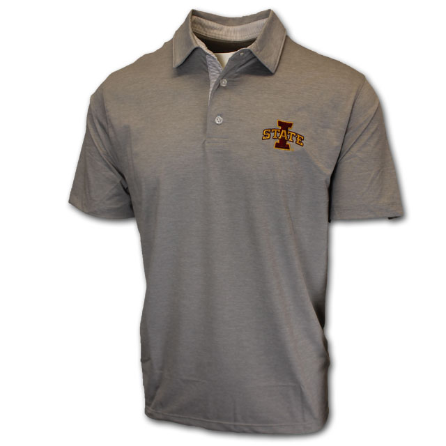 Image For Gray I-State Polo