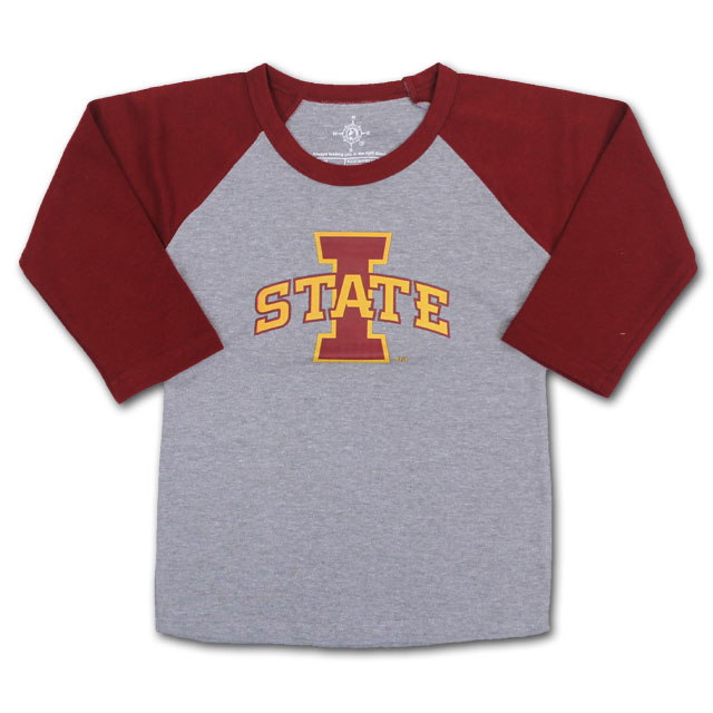 Image For Toddler I-State Baseball Tee