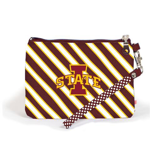 Image For I-State Stripe Wristlet