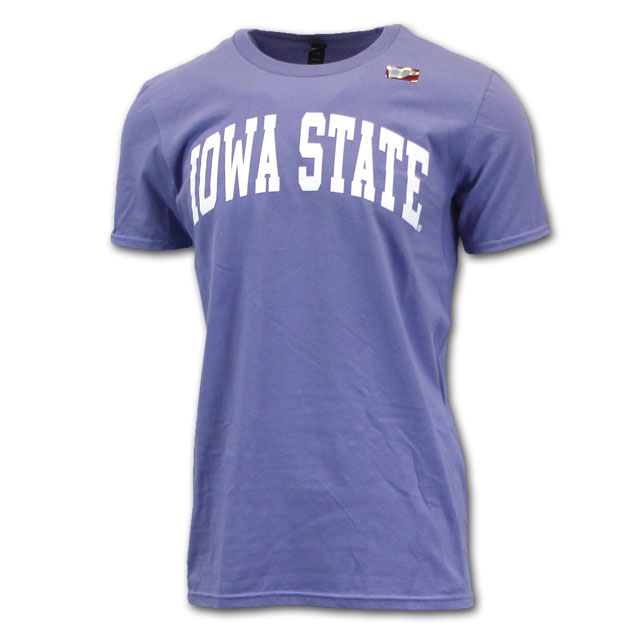 Image For Arched Iowa State Short Sleeve (Violet)*  <i>WAS $9.99</i>