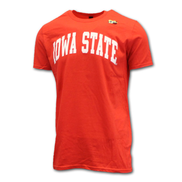 Image For Arched Iowa State Short Sleeve (Coral)*  <i>WAS $9.99</i>