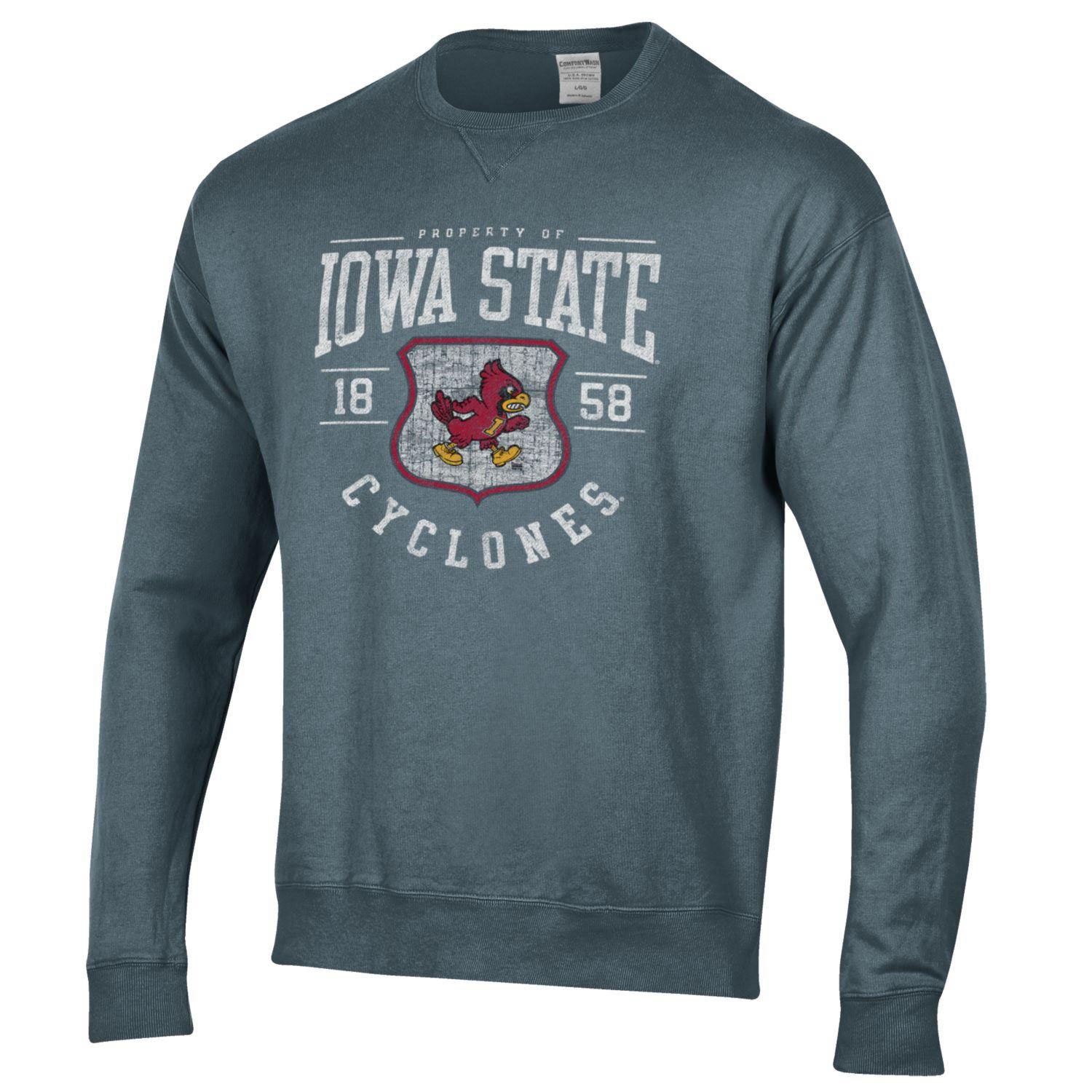 Image For Property Of Iowa State Crew Neck Sweatshirt