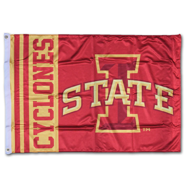 Image For Cyclones Tailgating Flag