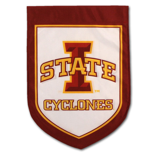 Image For I-State Shield Garden Flag