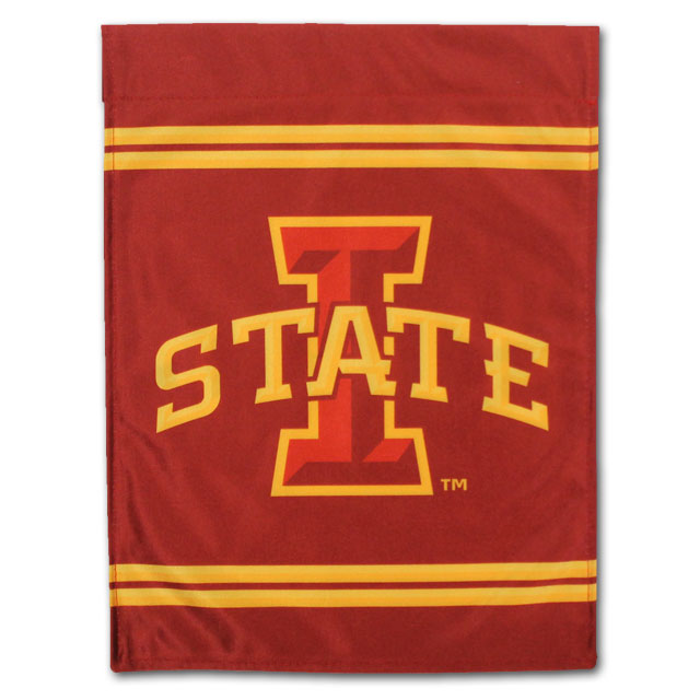Image For I-State Vintage Garden Flag