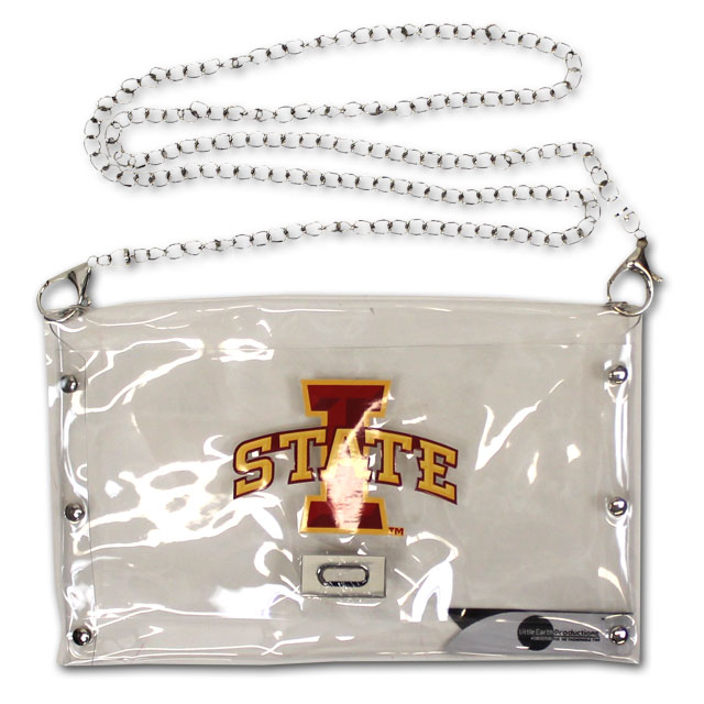 Image For I-State Clear Envelope Cross Body Purse