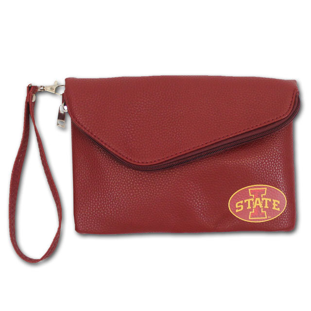 Image For I-State Leather Fold Over Purse