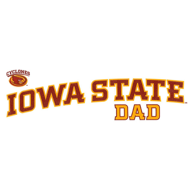 Image For Iowa State Cy-Head Dad Decal *WAS $7.99