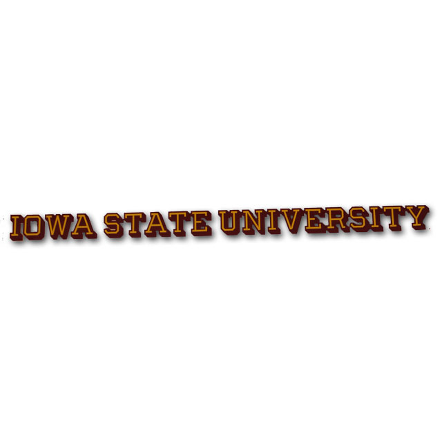 Image For Iowa State University Decal* <i>WAS $4.99</i>