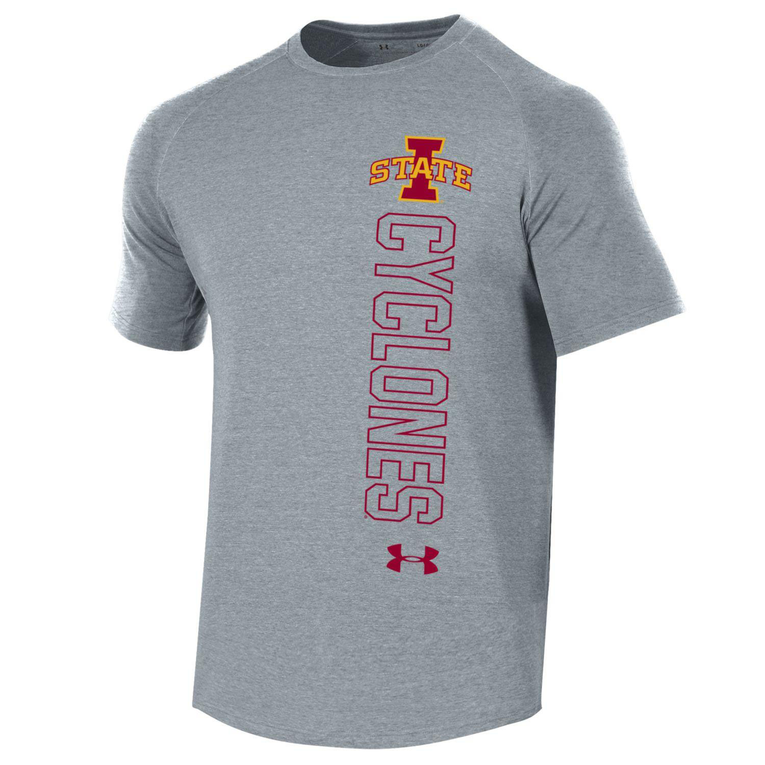 Image For UA® Gray I-State Cyclones T-Shirt