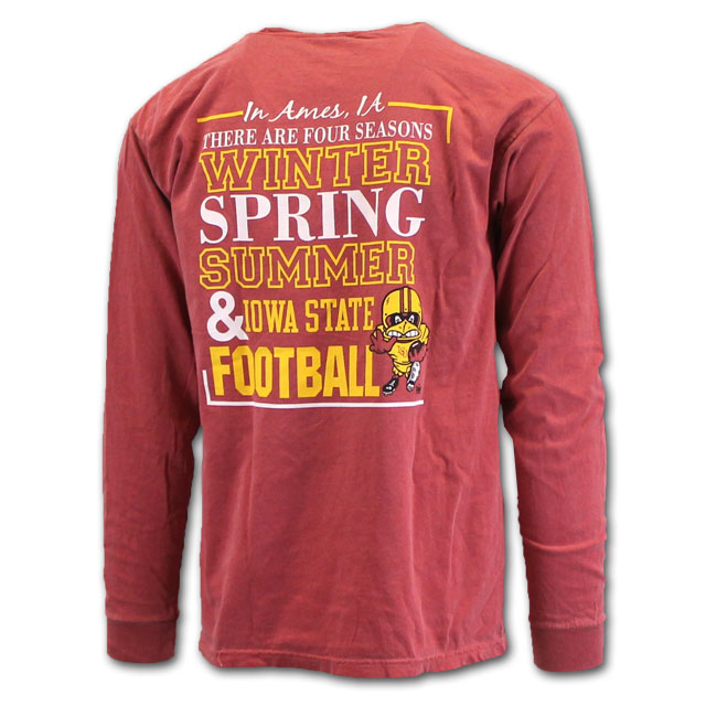 Image For Comfort Colors® Football Long Sleeve* <i>WAS $32.99</i>