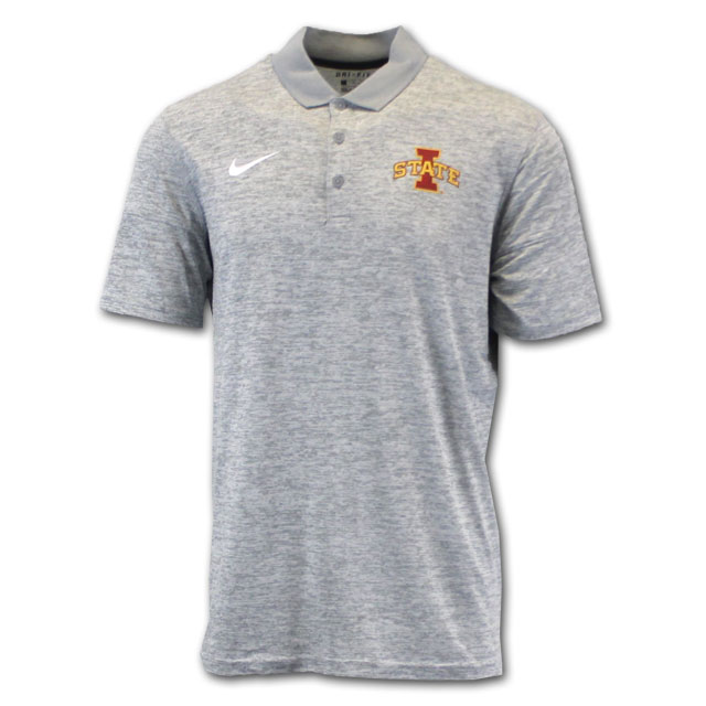 Image For Nike® Grey I-State Polo