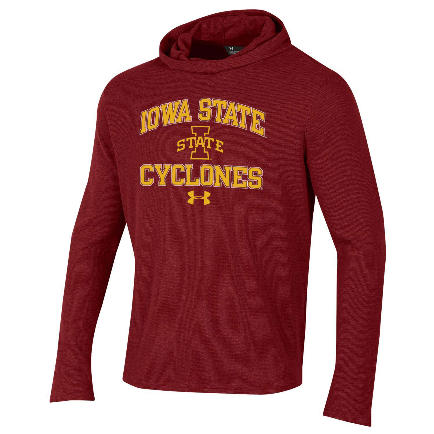 Image For UA® Iowa State Cyclones Hooded Long Sleeve