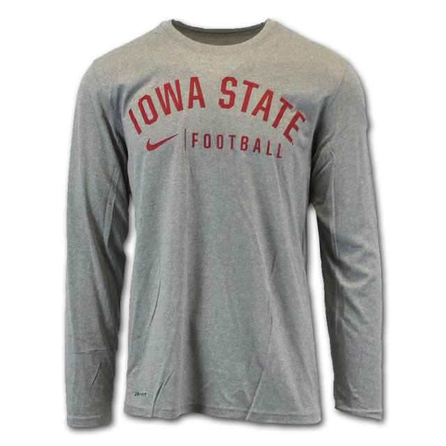 Image For Nike® Iowa State Football Dri-Fit LS* <i>WAS $39.99</i>