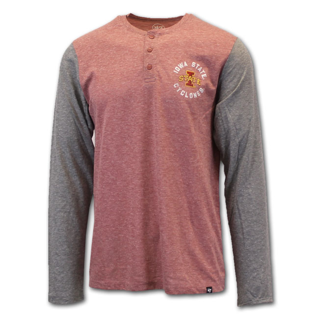 Image For I-State Henley Long Sleeve