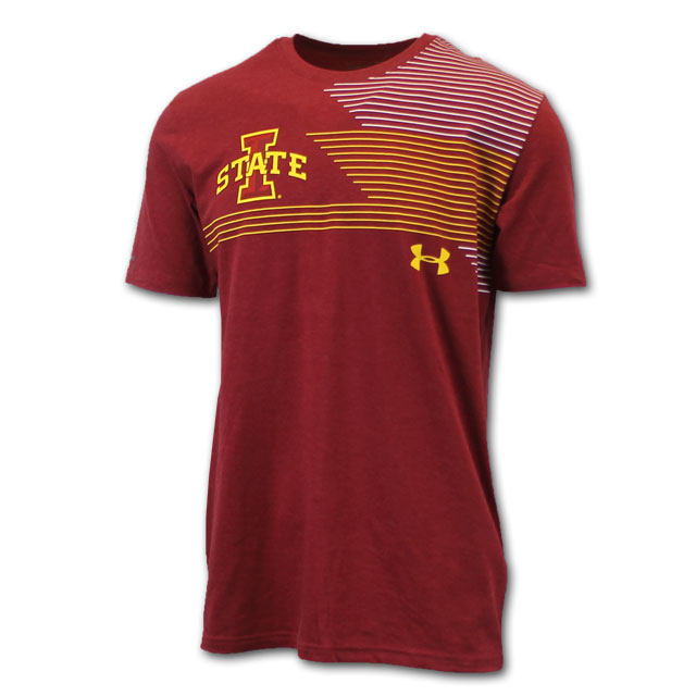 Image For UA® I-State Stripe T-Shirt