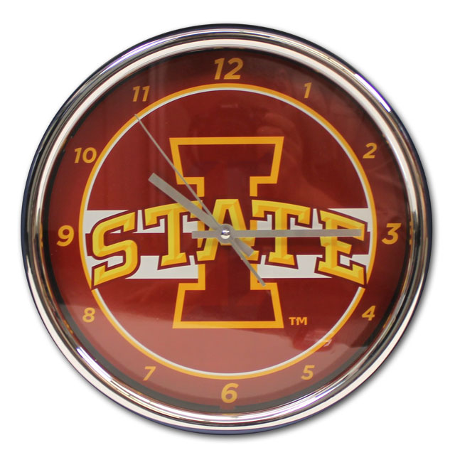 "Image For Chrome 12"" I-State Clock"