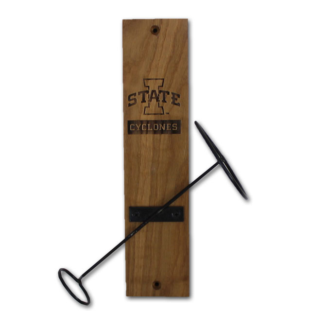 Image For I-State Cyclones Wall Mount Bottle Holder