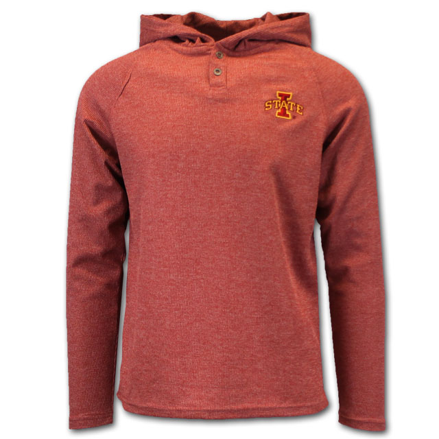 Image For I-State Hooded Thermal Long Sleeve TShirt* <i>WAS $42.00</i>