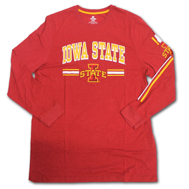 Image For Colosseum® Tall Iowa State Long Sleeve