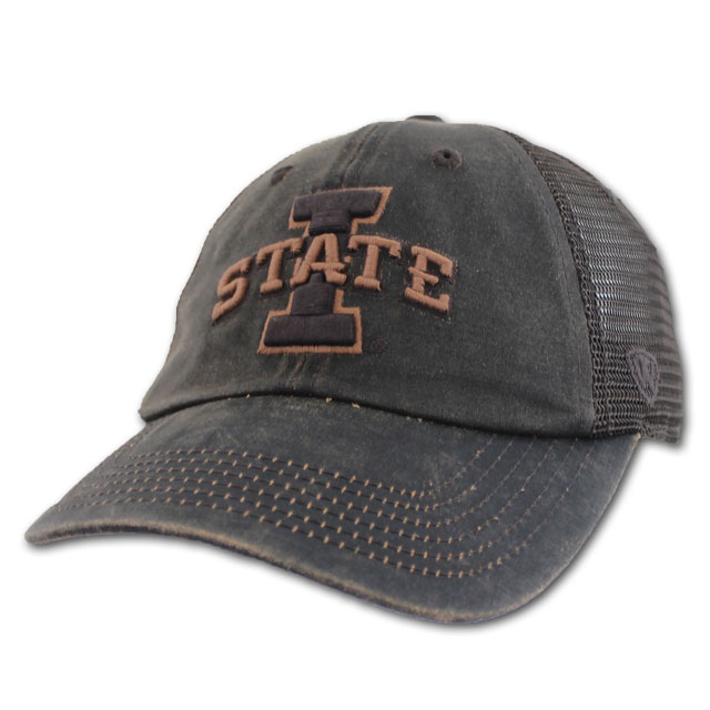 Image For I-State Brown Mesh Cap