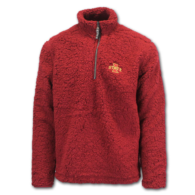 Image For I-State 1/4 Zip Sherpa Jacket