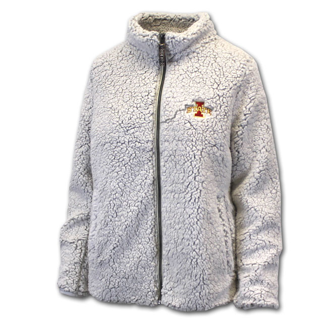 Image For I-State Full Zip Sherpa Jacket