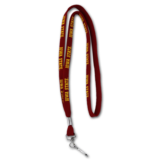 Image For Iowa State 3/8 Lanyard