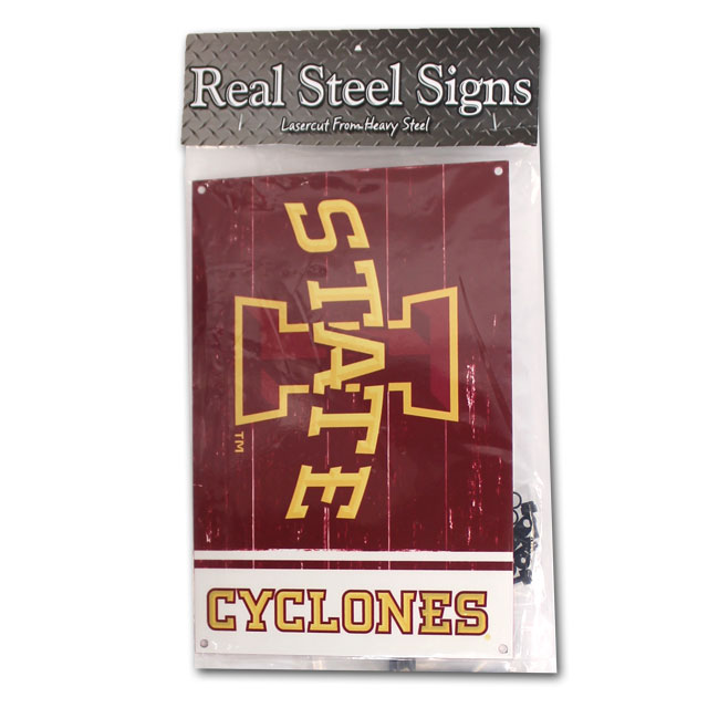 Image For I-State Steel Sign with Garden Stake