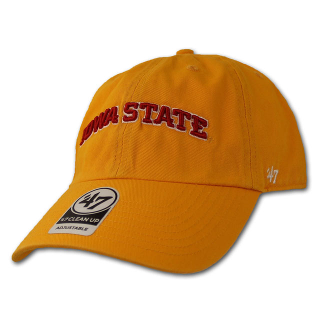 Image For '47 Brand Iowa State Cap (Gold)