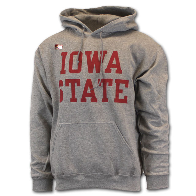 Image For Cy's Deals Iowa State Stacked Hooded Sweatshirt