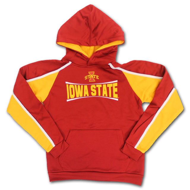 Image For Colosseum® Youth Iowa State Hooded Sweatshirt