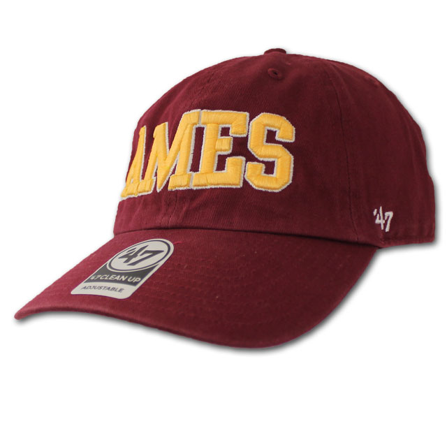 Image For '47 Brand Ames Cap (Cardinal)