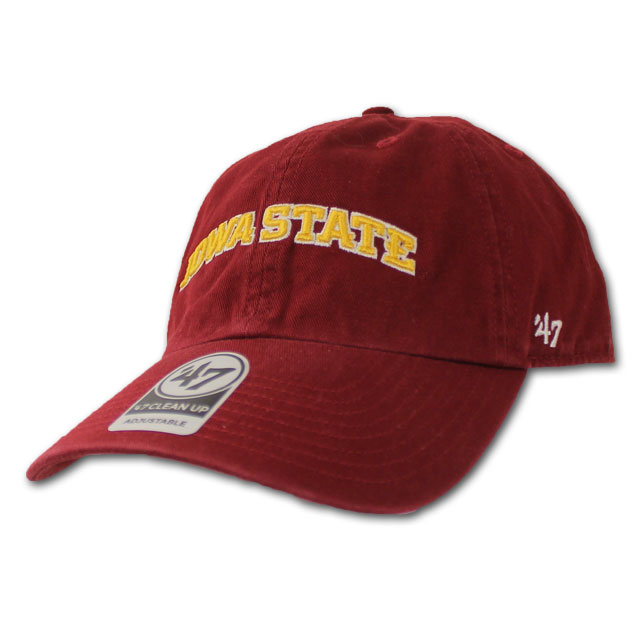 Image For '47 Brand Iowa State Cap (Cardinal)