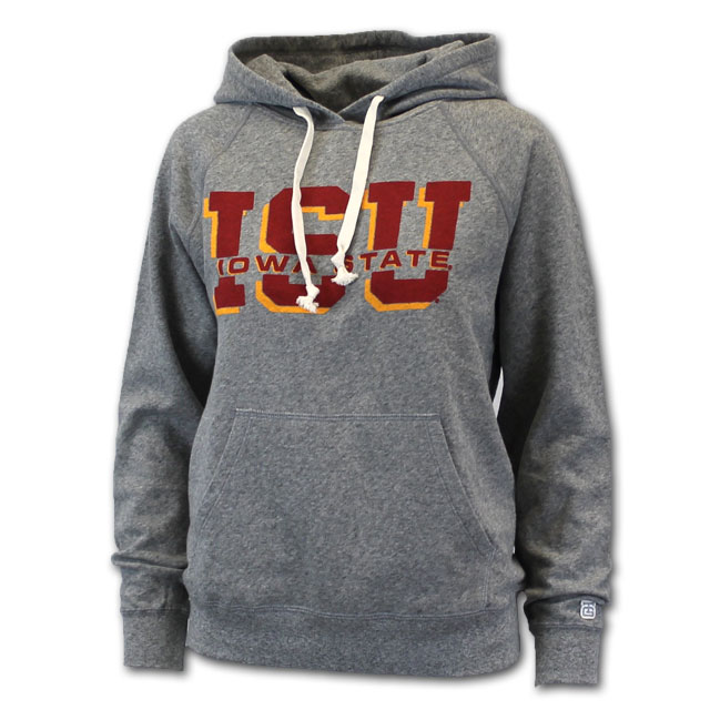 Image For Tailgate® Women's ISU Hooded Sweatshirt