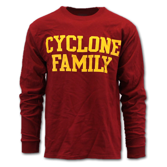 Image For Cyclone Family Long Sleeve T-Shirt