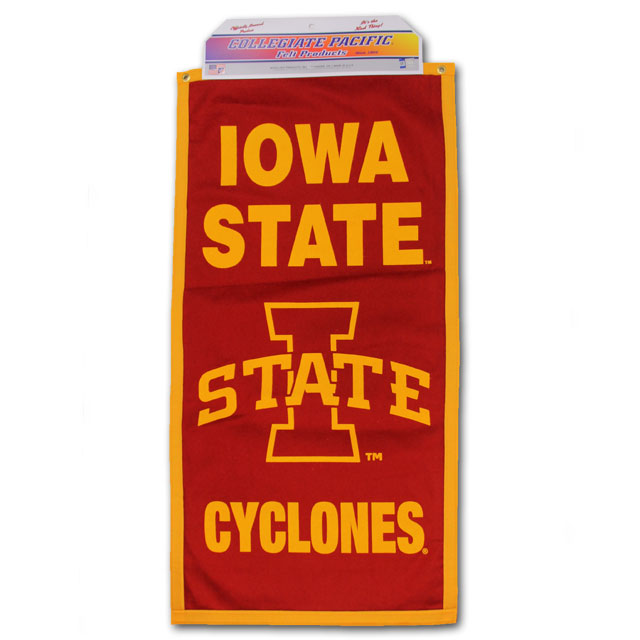 "Image For 18 x 36"" Iowa State Cyclones Banner"