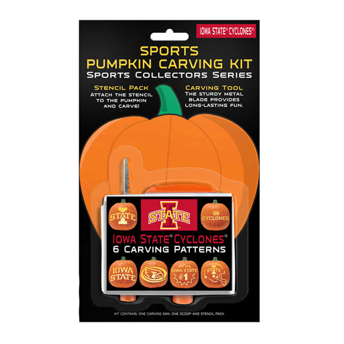 Image For Iowa State Pumpkin Carving Kit* <i>WAS $8.00</i>