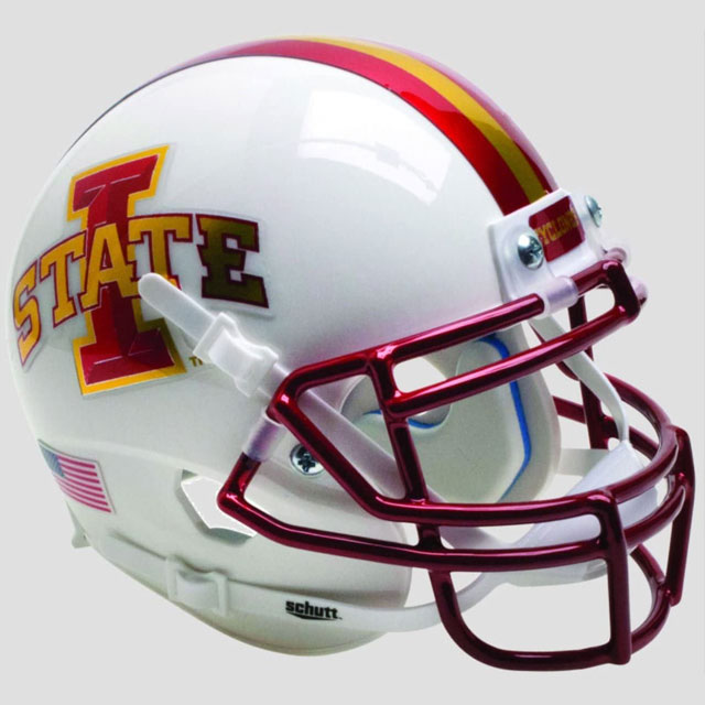 Image For Authentic Mini White I-State Helmet