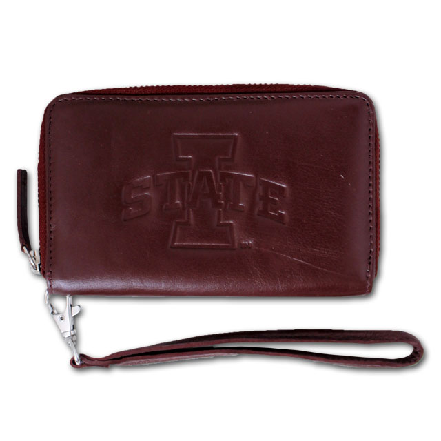 Image For Leather I-State Clutch (Cardinal)* <i>WAS $44.99</i>