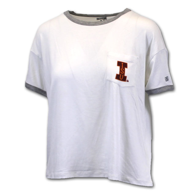 Image For Tailgate® Women's ISU Crop Top* <i> WAS $39.50<i>