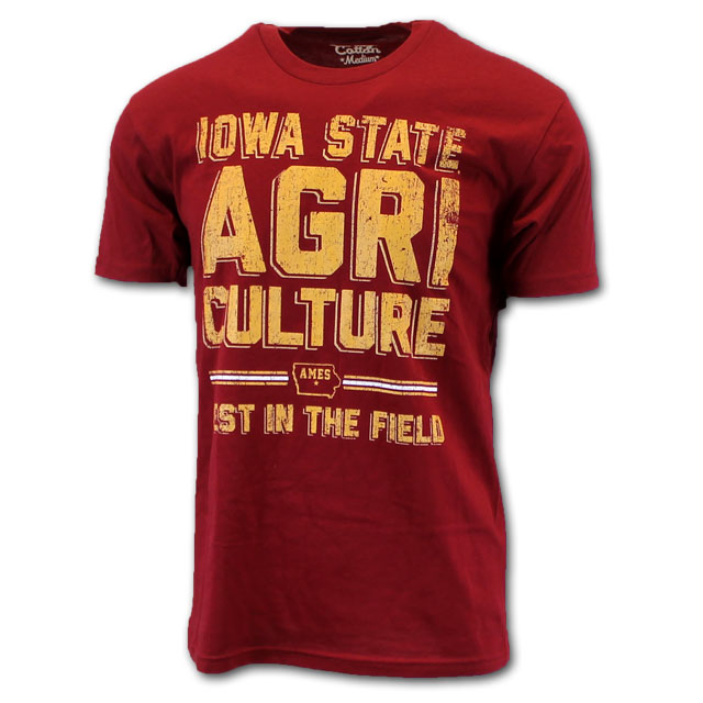 Cover Image For Iowa State Agriculture Short Sleeve T-Shirt *WAS $24.99