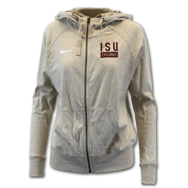 Image For Nike® Women's Cyclones Full Zip Hooded Sweatshirt