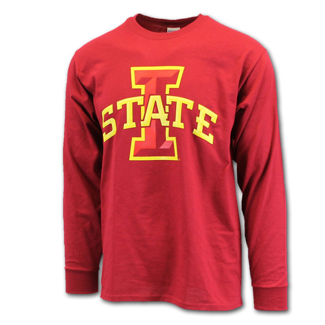 Image For Cy's Deals I-State Long Sleeve T-Shirt (Cardinal)