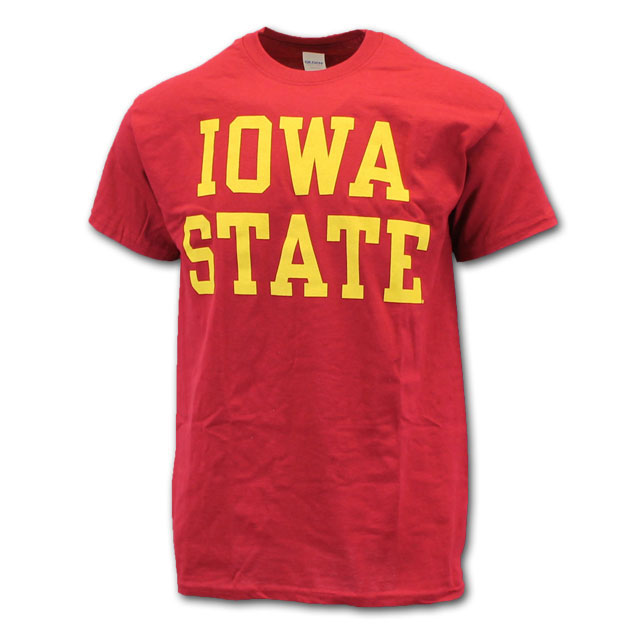 Image For Cy's Deals Iowa State Short Sleeve T-Shirt (Cardinal)