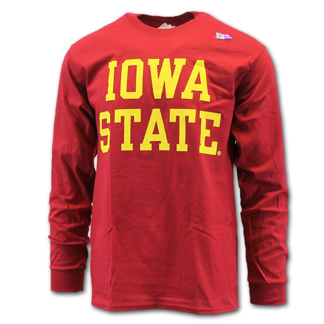 Image For <p>Cy's Deals Iowa State Long Sleeve T-Shirt (Cardinal)</p>