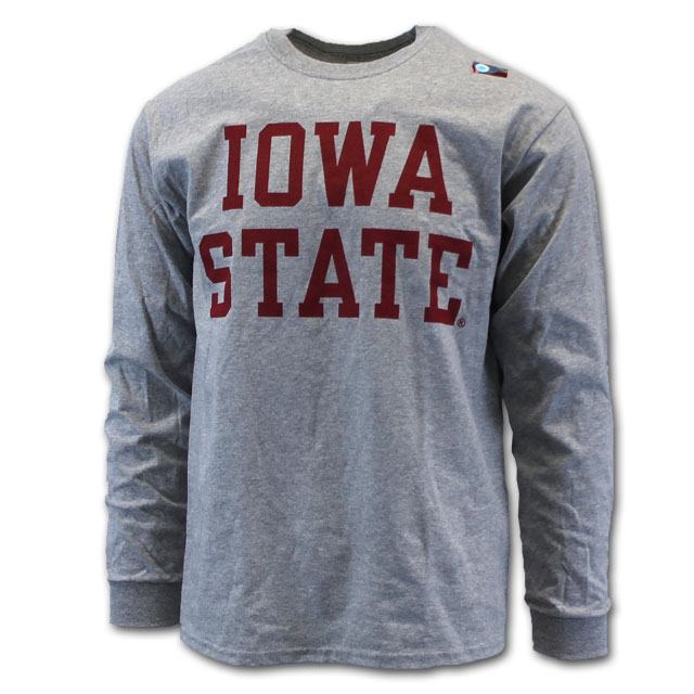 Image For Cy's Deals Iowa State Long Sleeve T-Shirt (Oxford)