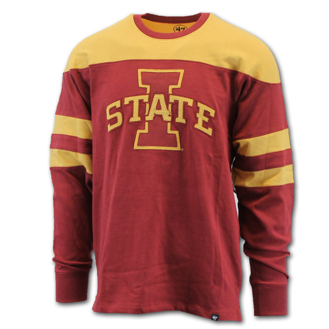 Image For '47 Brand I-State Crew Neck (Cardinal)* <i>WAS $98.00</i>