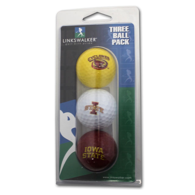 Image For Three Color Golf Ball Set